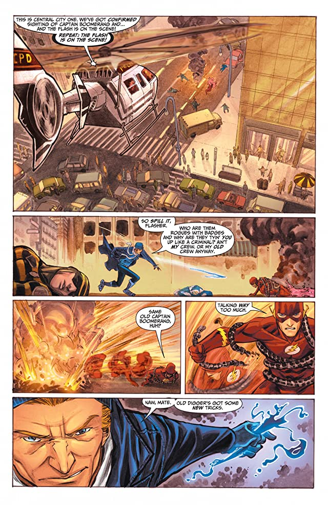 click for super-sized previews of The Flash (2010-2011) #4