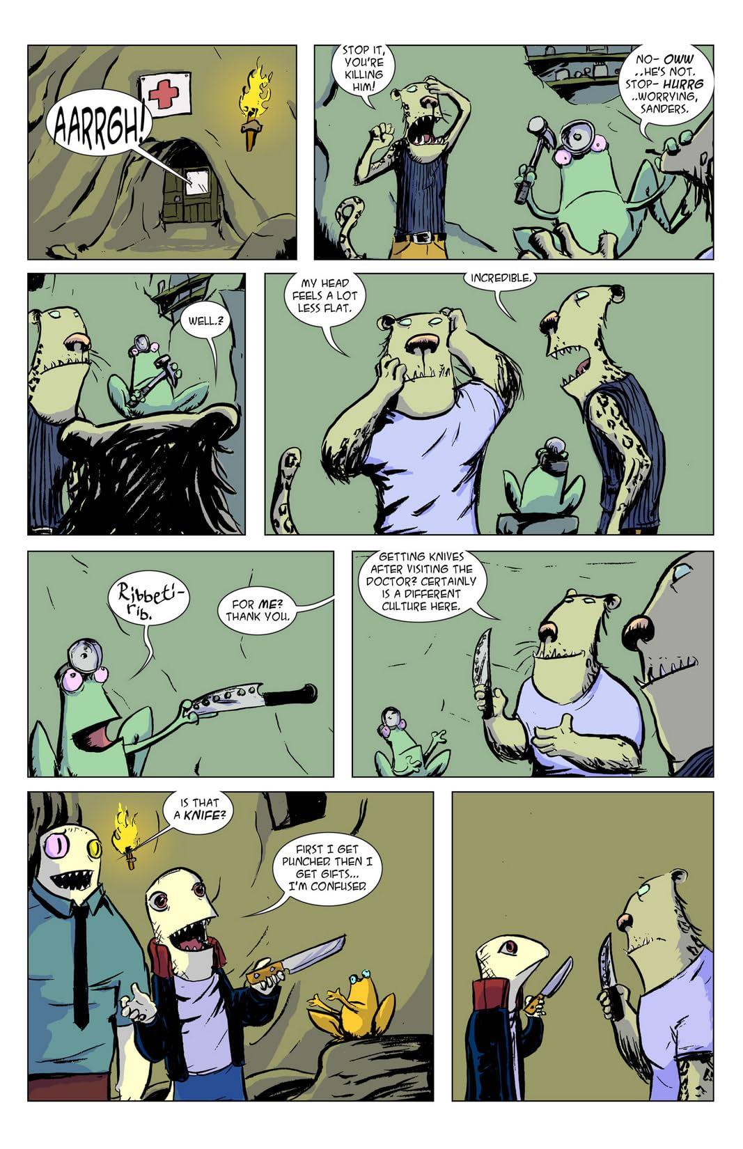 Pipeline Lizards #4