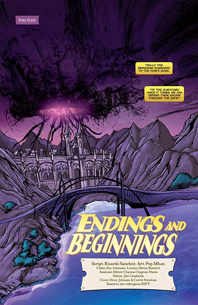 click for super-sized previews of The Telara Chronicles #4