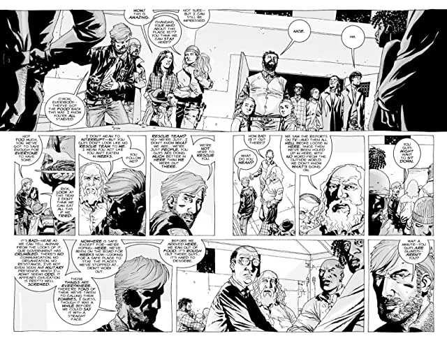 click for super-sized previews of The Walking Dead #14