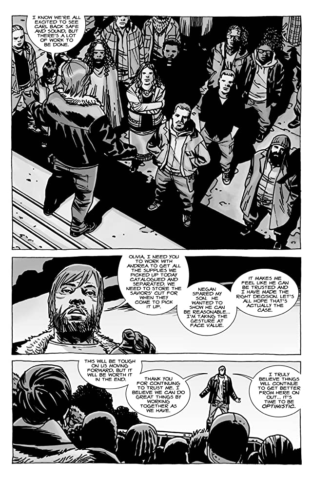 click for super-sized previews of The Walking Dead #107