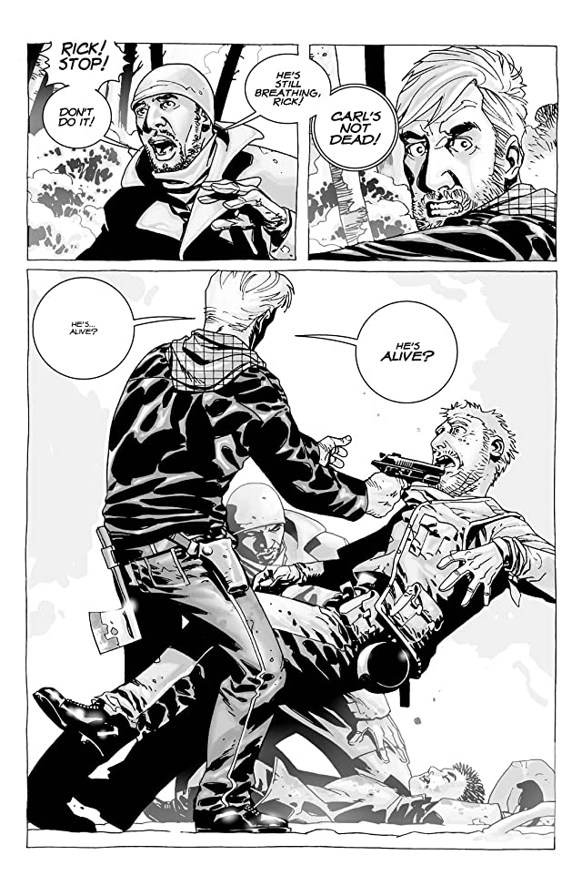 click for super-sized previews of The Walking Dead #10