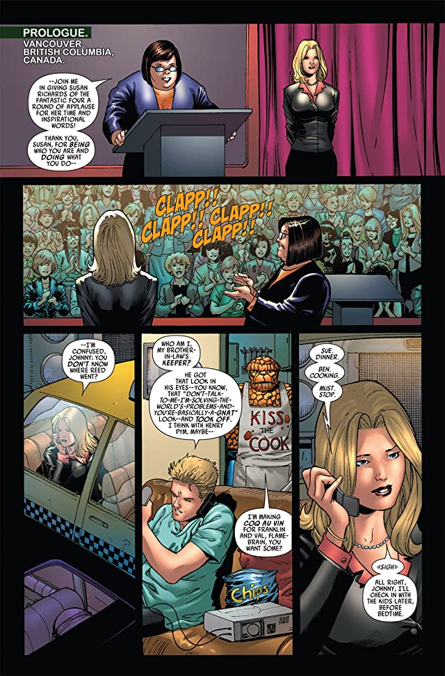click for super-sized previews of Secret Invasion: Fantastic Four #1 (of 3)