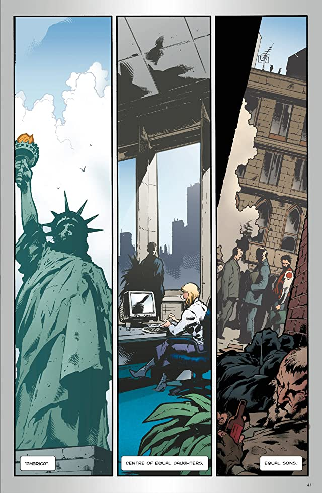 click for super-sized previews of Classwar #2