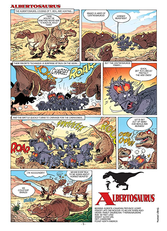 Dinosaurs Vol. 2: Bite of the Albertosaurus