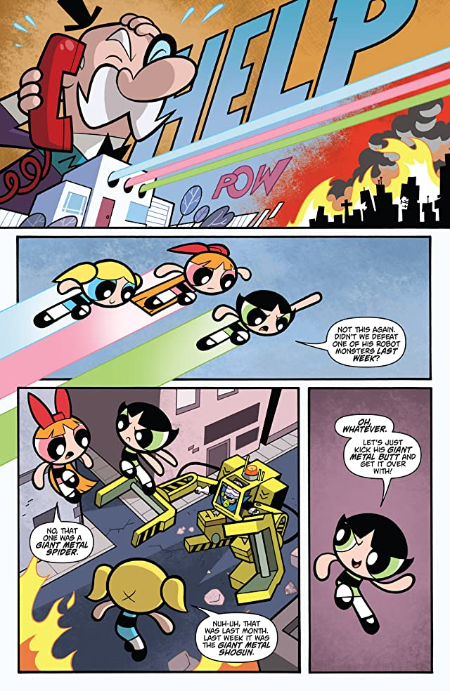 click for super-sized previews of Powerpuff Girls Vol. 1
