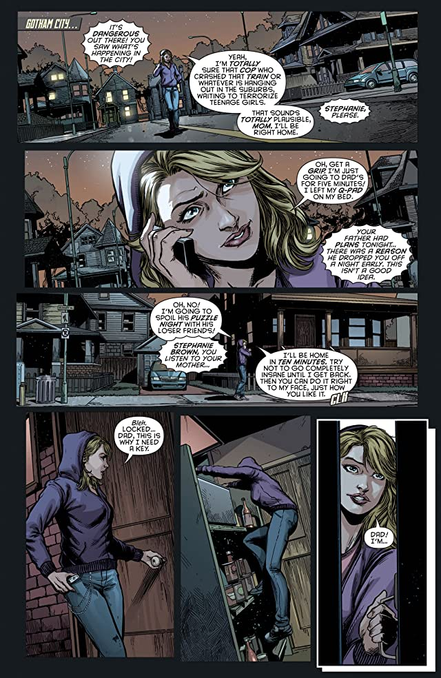 click for super-sized previews of Batman Eternal (2014-2015) #3