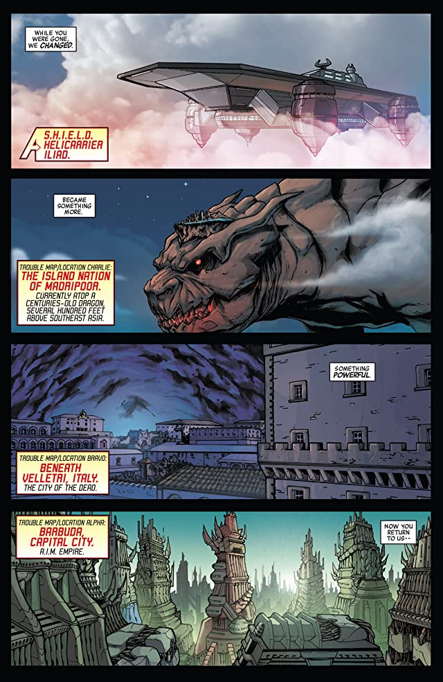 click for super-sized previews of Avengers World (2014-) #5