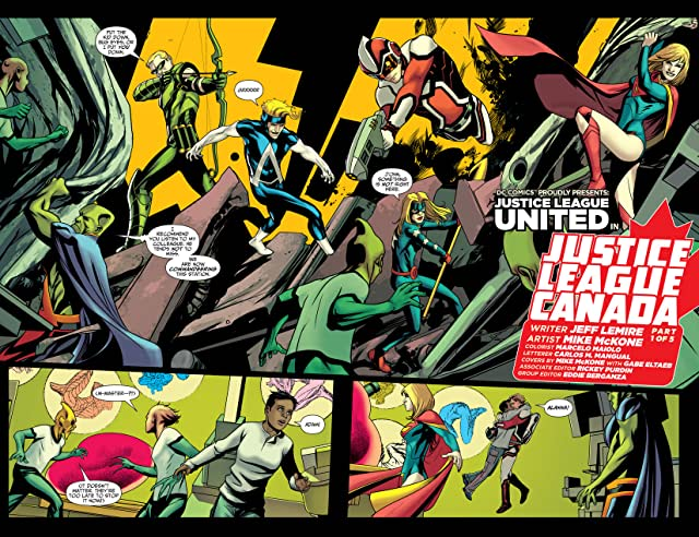 Justice League United (2014-) #0