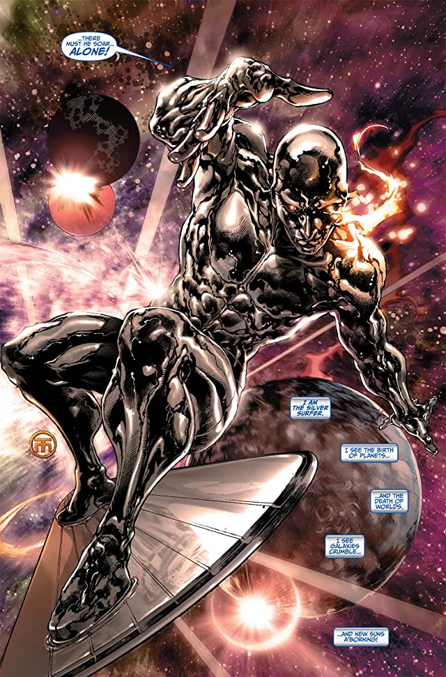 click for super-sized previews of Silver Surfer (2011) #2