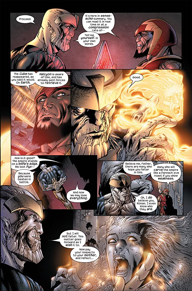 click for super-sized previews of Ultimate Fantastic Four #50