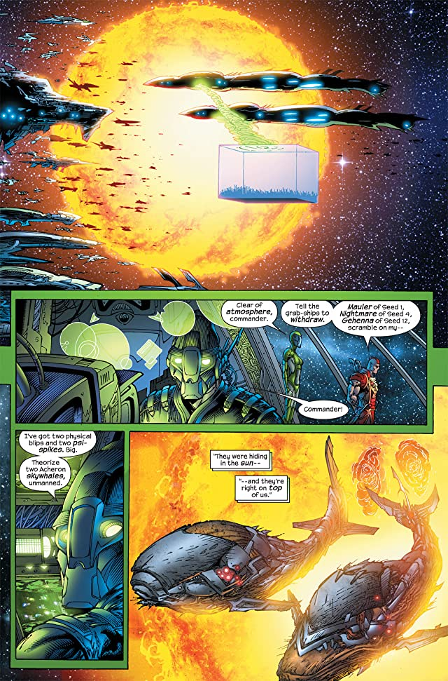 click for super-sized previews of Ultimate Fantastic Four #51