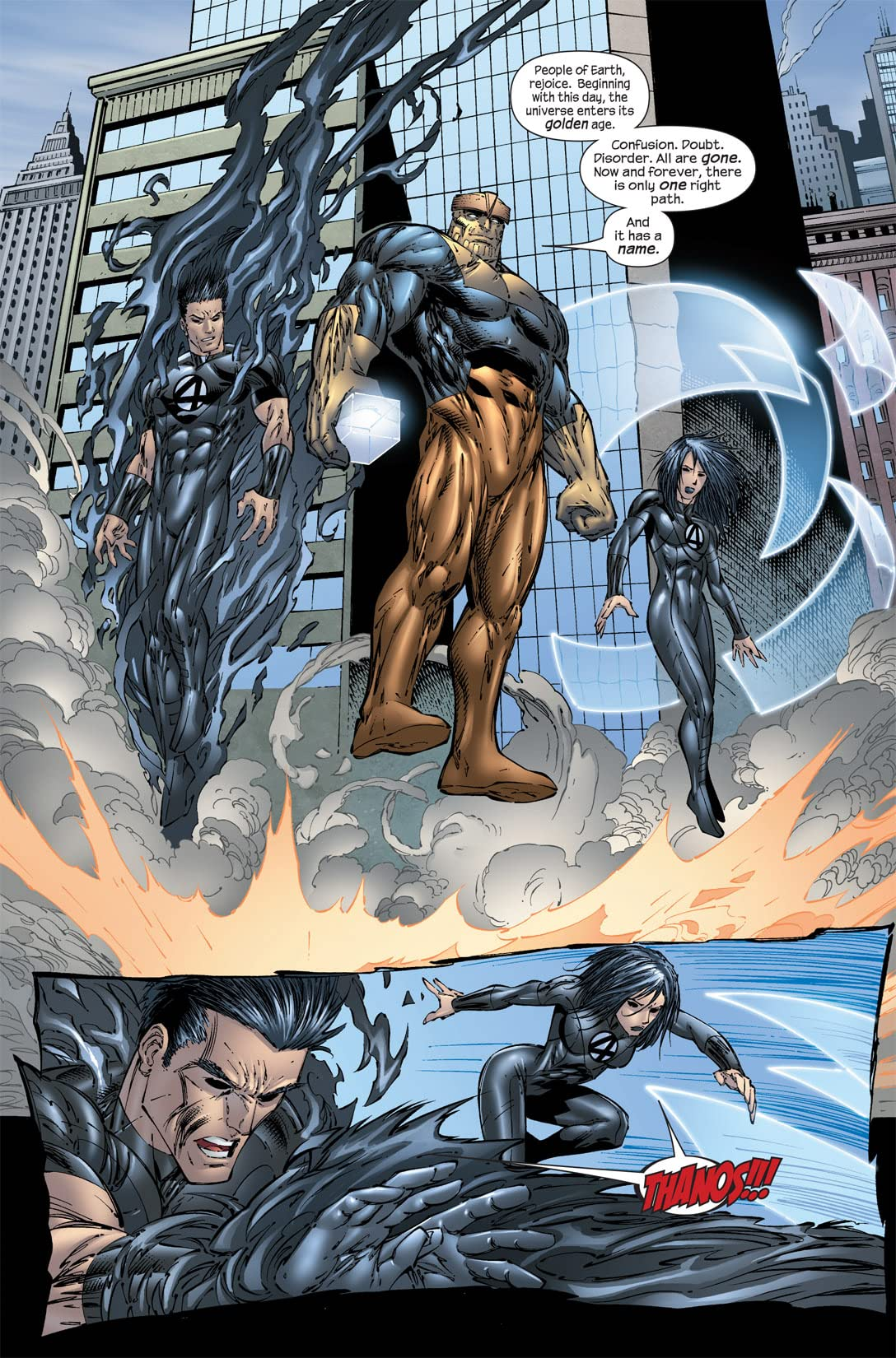 Ultimate Fantastic Four #52