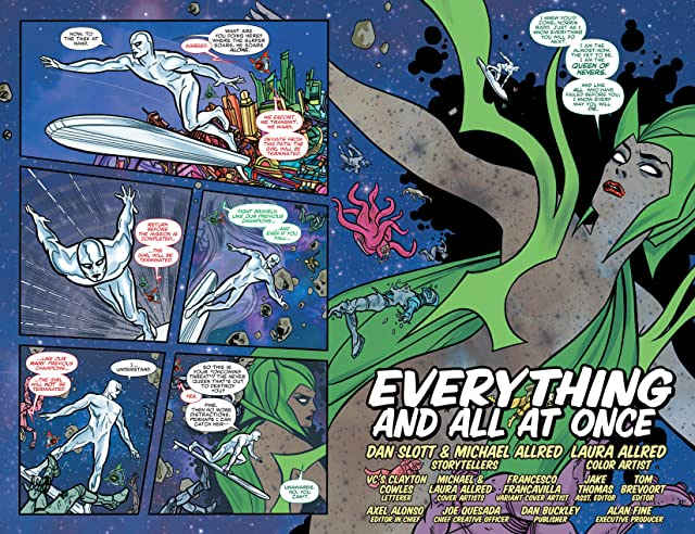 click for super-sized previews of Silver Surfer (2014-) #2