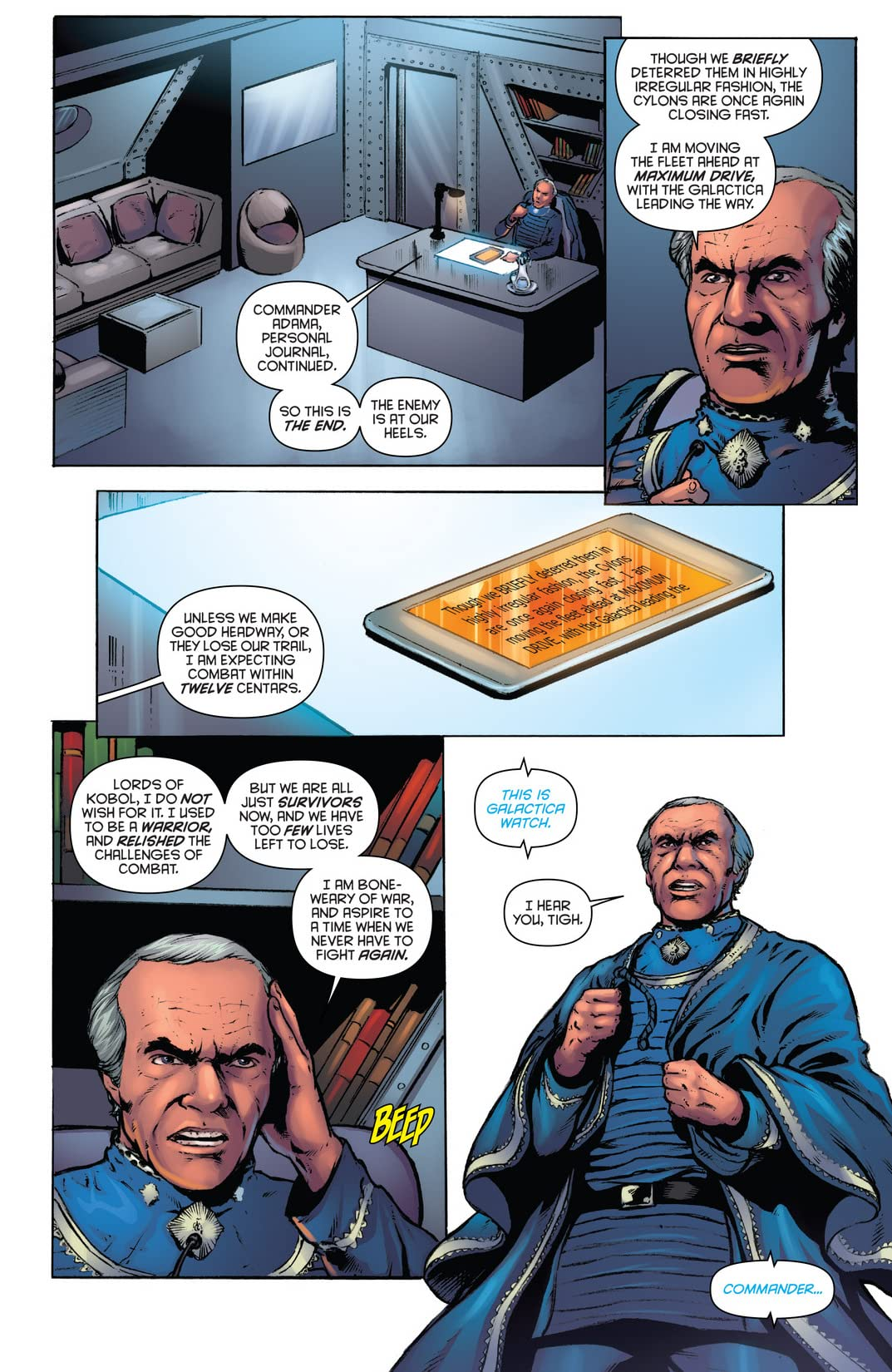 Classic Battlestar Galactica Vol. 2 #10: Digital Exclusive Edition