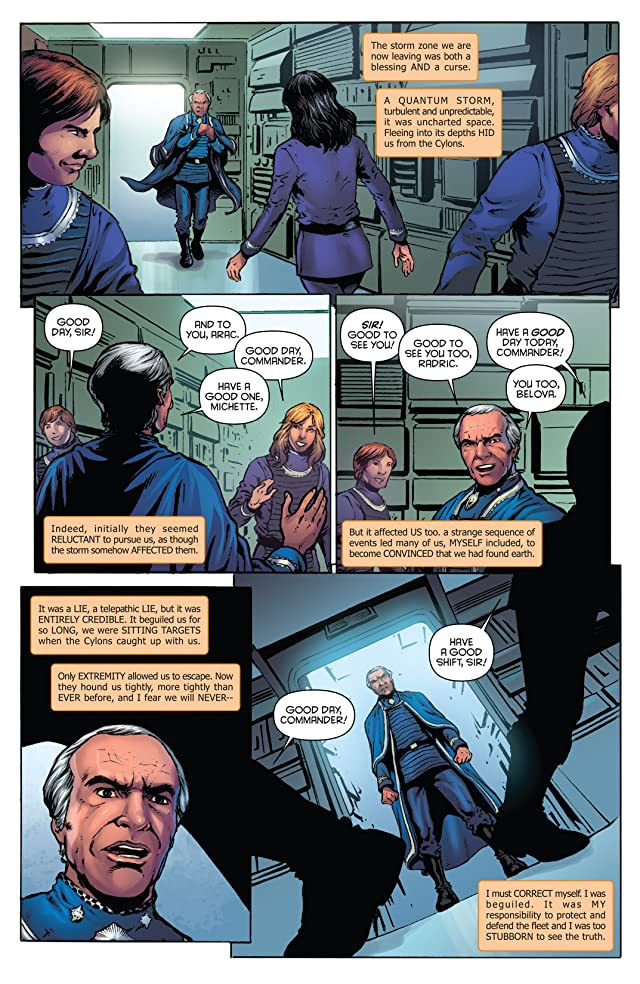 click for super-sized previews of Classic Battlestar Galactica Vol. 2 #10: Digital Exclusive Edition