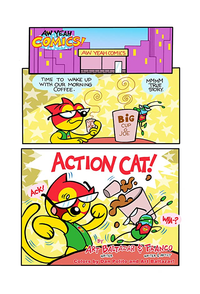 click for super-sized previews of Aw Yeah Comics! #2