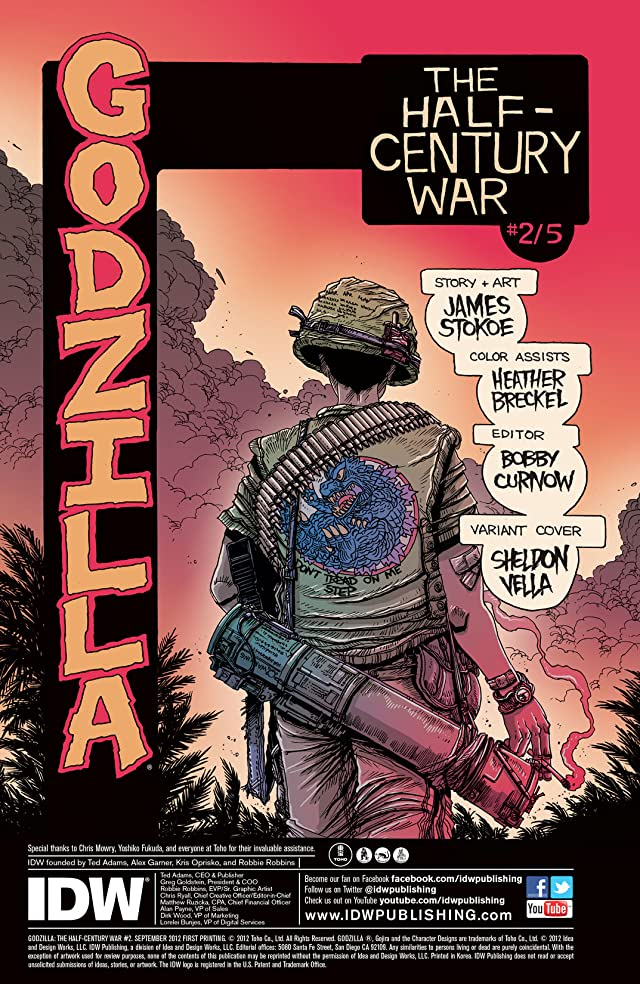 click for super-sized previews of Godzilla Half Century War #2 (of 5)