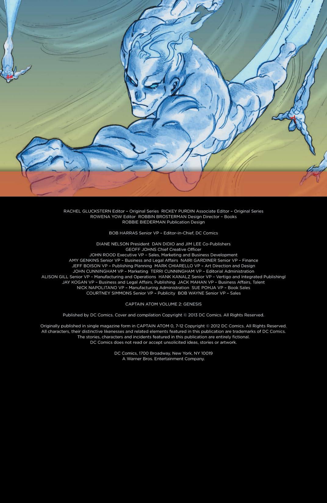 Captain Atom (2011-2012) Vol. 2: Genesis