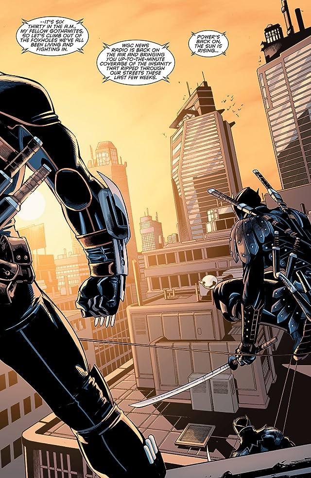 click for super-sized previews of Forever Evil Aftermath: Batman vs. Bane #1