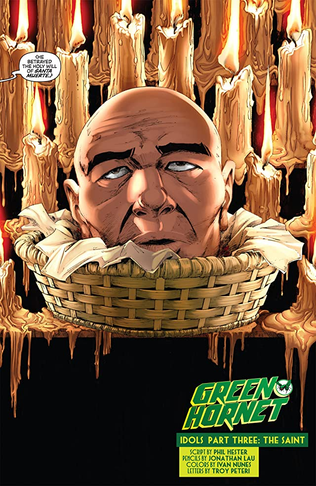 click for super-sized previews of Green Hornet #13