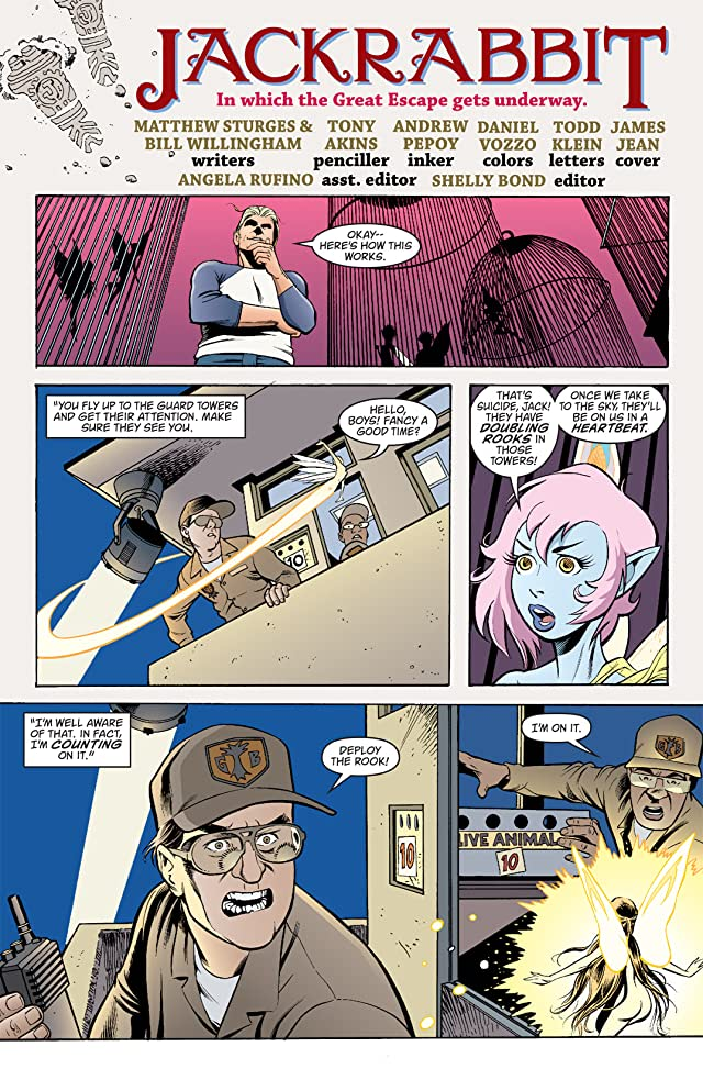 click for super-sized previews of Jack Of Fables #4