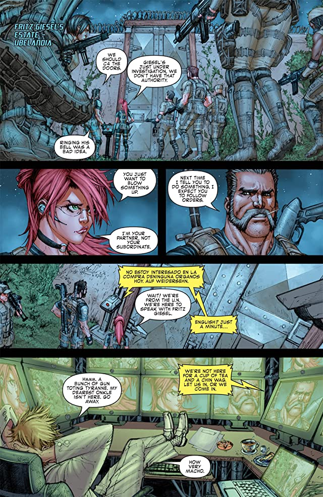 click for super-sized previews of Resident Evil #4 (of 6)