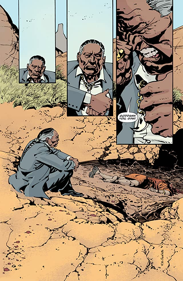 click for super-sized previews of Scalped #13