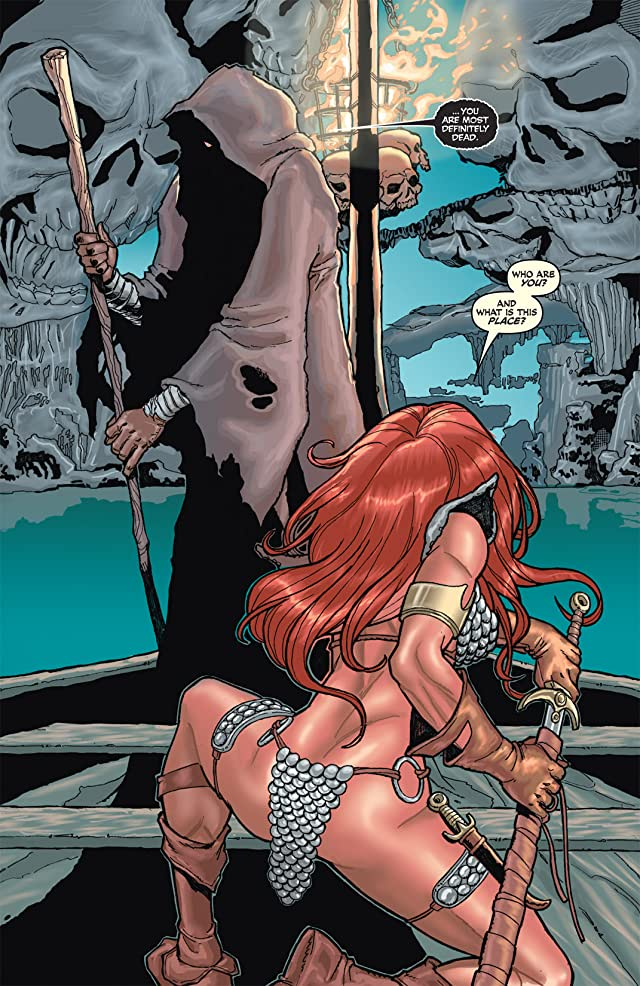 Red Sonja: She-Devil With a Sword #30
