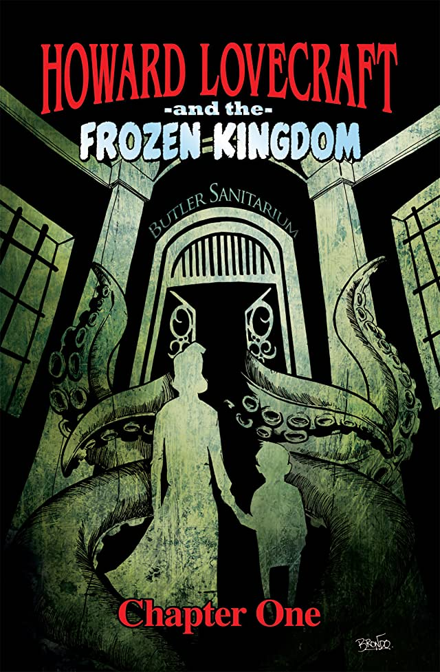 click for super-sized previews of Howard Lovecraft and the Frozen Kingdom: Preview