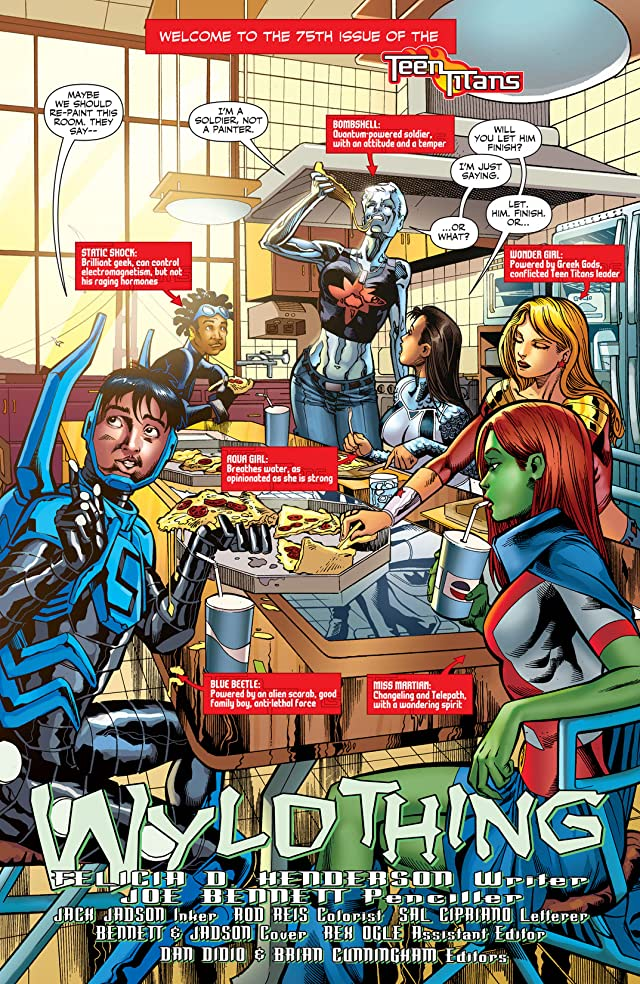 click for super-sized previews of Teen Titans (2003-2011) #75