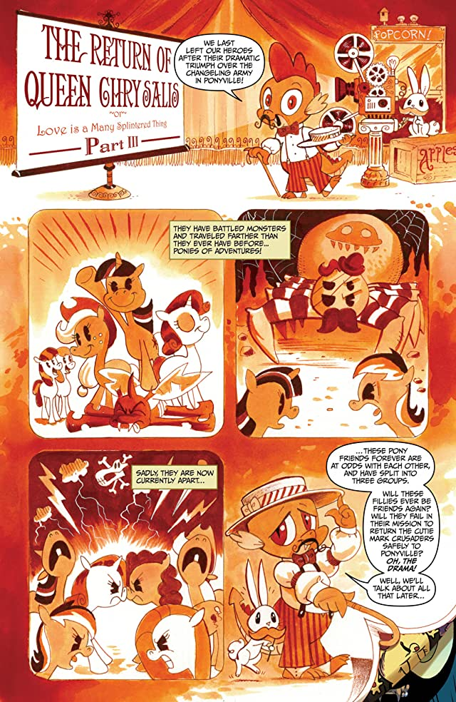 click for super-sized previews of My Little Pony: Friendship Is Magic #3