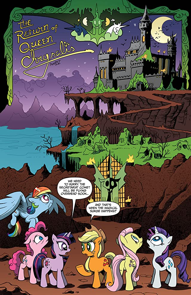 click for super-sized previews of My Little Pony: Friendship Is Magic #4