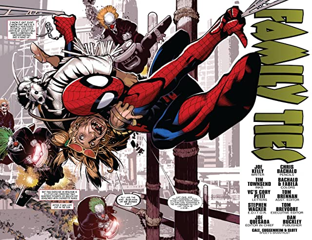 click for super-sized previews of Amazing Spider-Man (1999-2013) #575