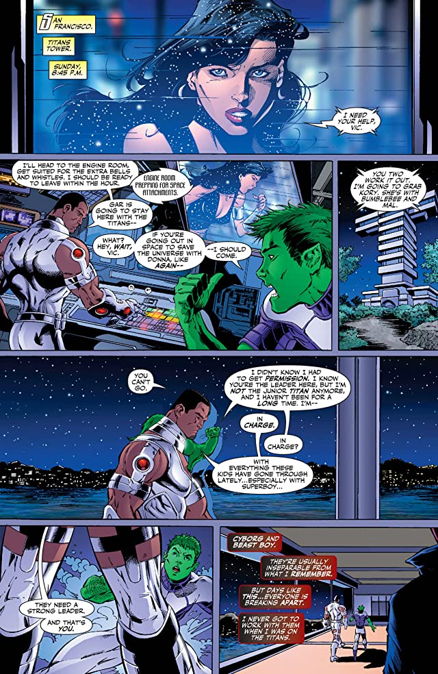 click for super-sized previews of Teen Titans (2003-2011) #29