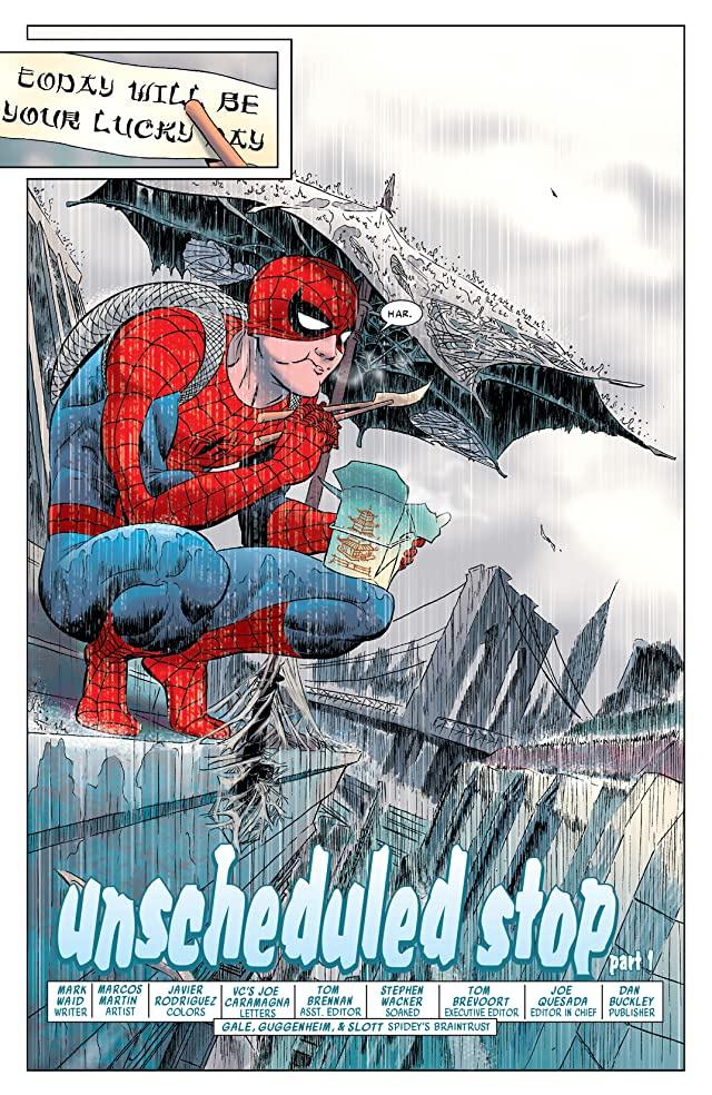 click for super-sized previews of Amazing Spider-Man (1999-2013) #578