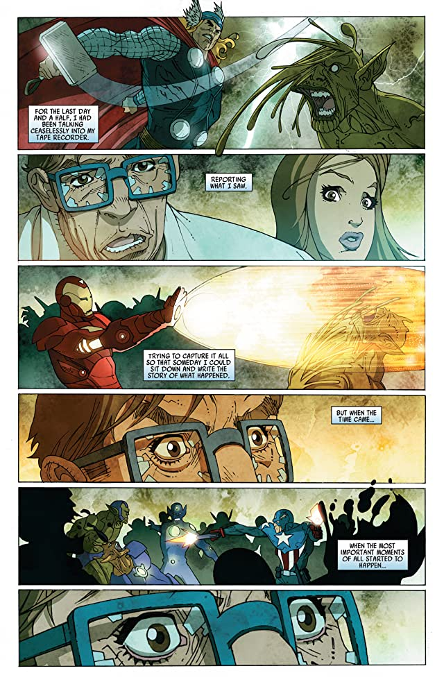 click for super-sized previews of Secret Invasion: Front Line #5