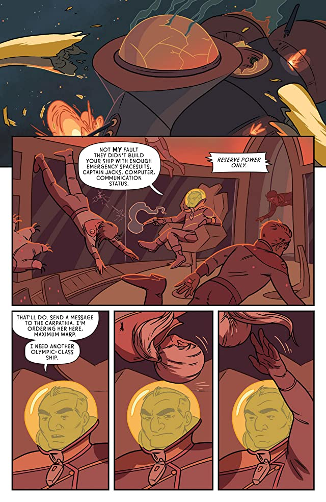 click for super-sized previews of The Midas Flesh #5