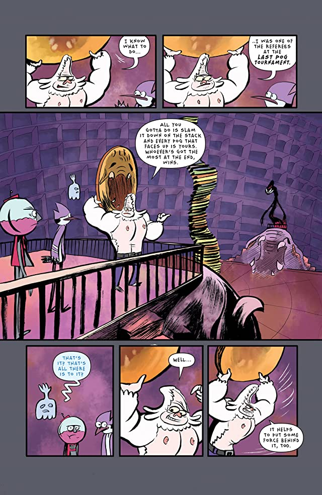 click for super-sized previews of Regular Show #12