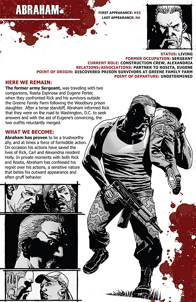 click for super-sized previews of The Walking Dead Survivors' Guide #1 (of 4)