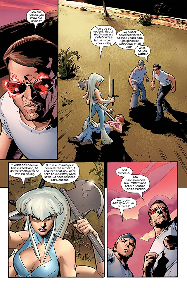 click for super-sized previews of Ultimate X-Men #56