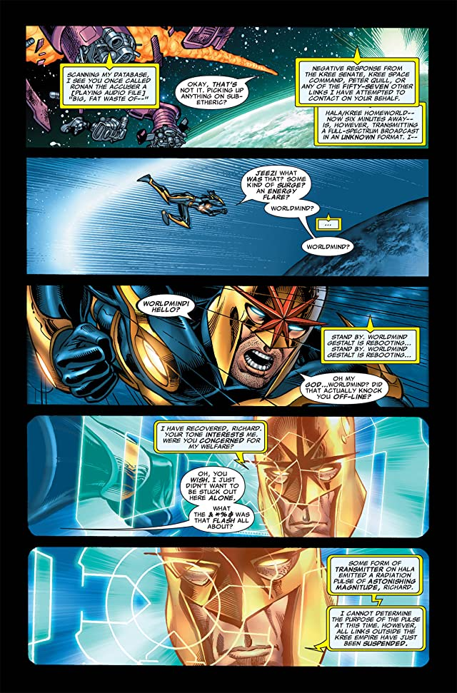 click for super-sized previews of Nova (2007-2010) #4