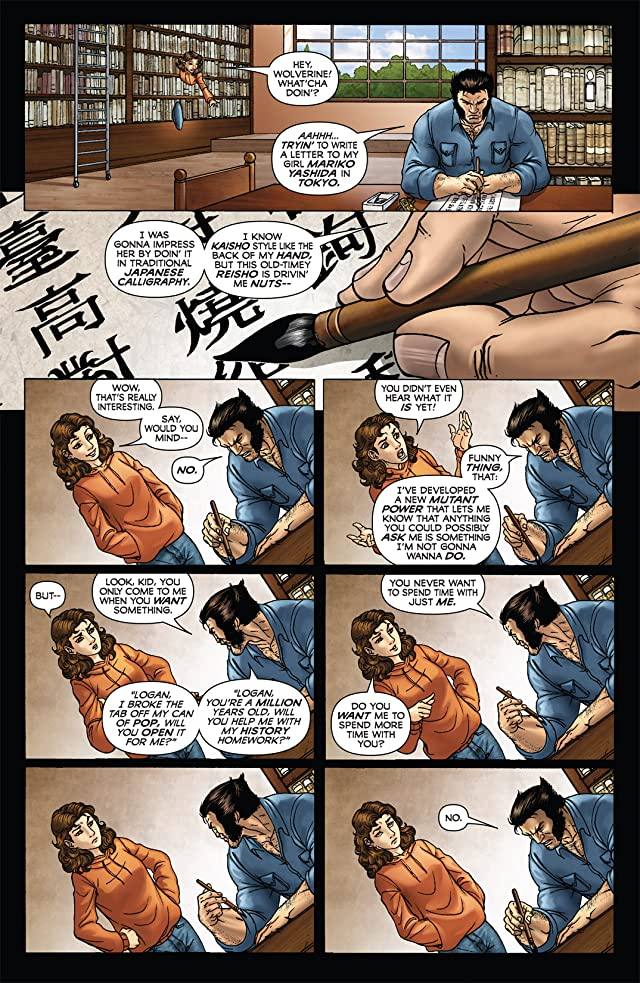 click for super-sized previews of Wolverine: First Class #2
