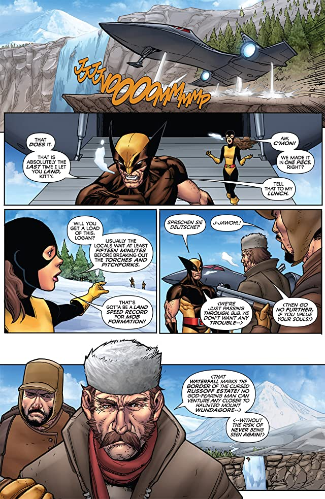 click for super-sized previews of Wolverine: First Class #3