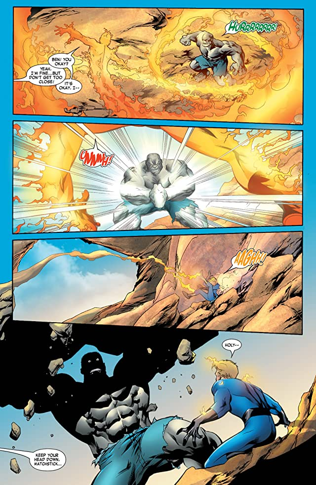 click for super-sized previews of Fantastic Four (1998-2012) #534