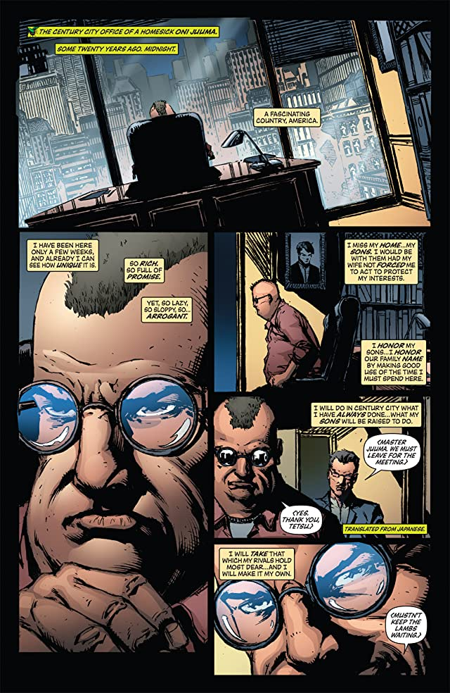 click for super-sized previews of Green Hornet: Blood Ties #3