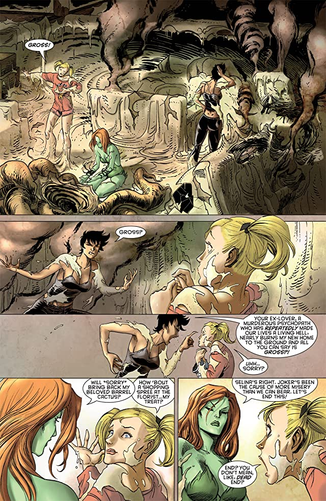 click for super-sized previews of Gotham City Sirens #5