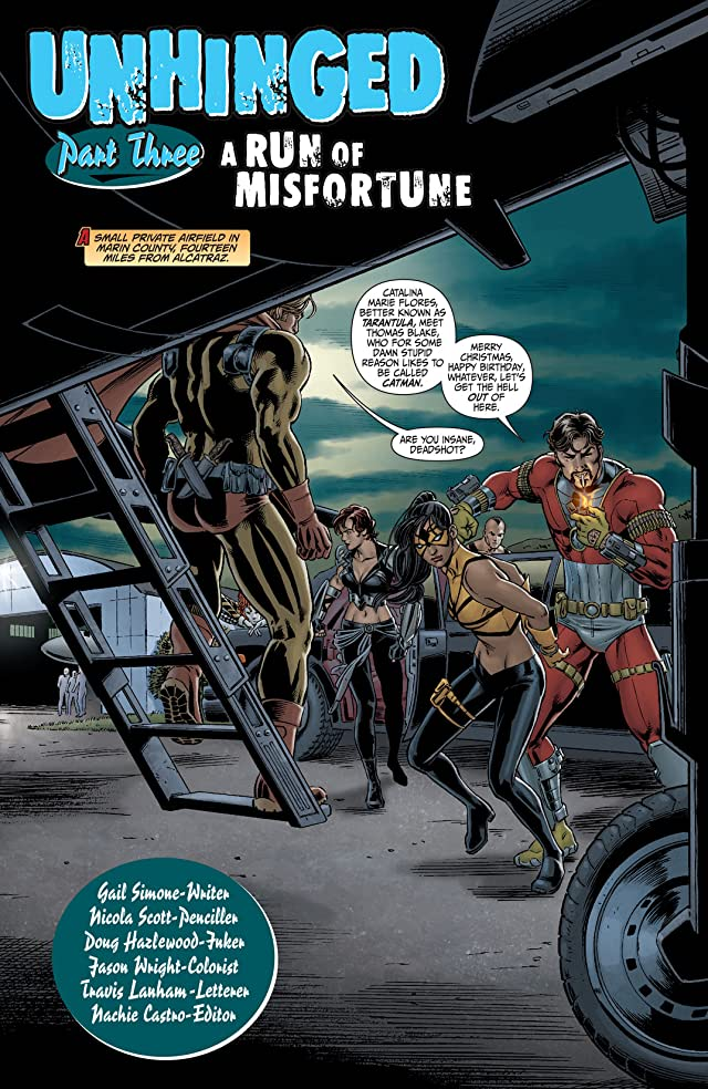 click for super-sized previews of Secret Six (2008-2011) #3