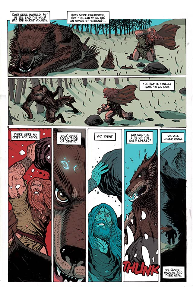 click for super-sized previews of Ghost Wolf #1