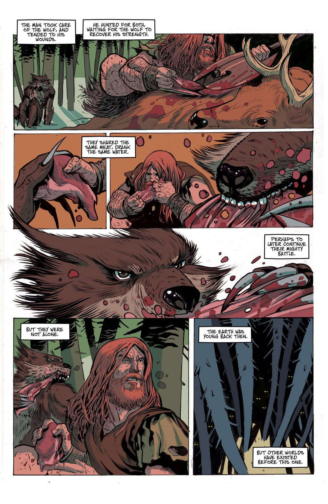 Ghost Wolf #1